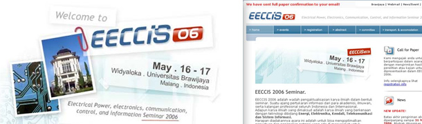 EECCIS 2006 Brawijaya University