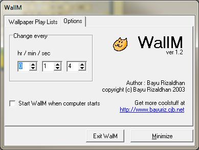 WallM configuration